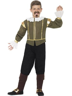 William Shakespeare Costume | Boys Fancy Dress